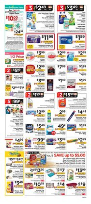 Tissues deals in the ShopRite weekly ad in New York