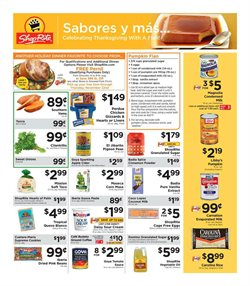 Sat nav deals in the ShopRite weekly ad in New York