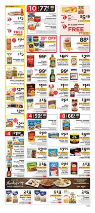 Salad deals in the ShopRite weekly ad in New York