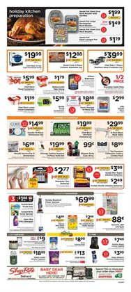 Coffee maker deals in the ShopRite weekly ad in New York