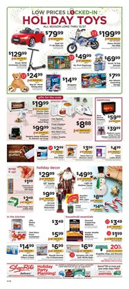 Christmas deals in the ShopRite weekly ad in New York