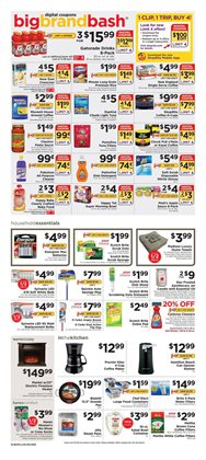 Furniture deals in the ShopRite weekly ad in New York