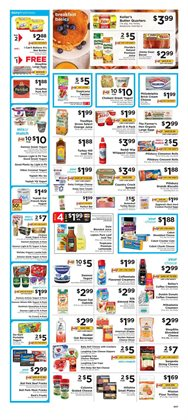 Saw deals in the ShopRite weekly ad in New York
