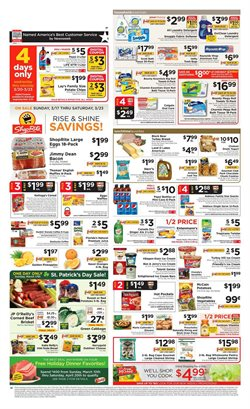 ShopRite deals in the Schenectady NY weekly ad