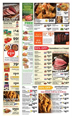 Rosé wine deals in the ShopRite weekly ad in New York