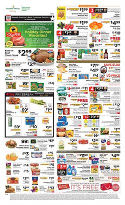 Cow meat deals in the ShopRite weekly ad in New York