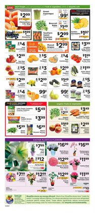 Broccoli deals in the ShopRite weekly ad in New York