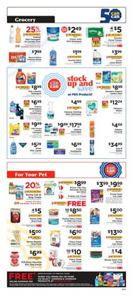 Sheet deals in ShopRite