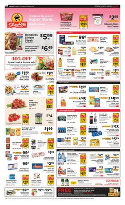 Mother's Day deals in the ShopRite catalog ( Expires today)