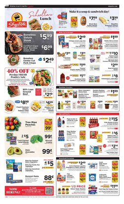 Grocery & Drug deals in the ShopRite catalog ( Expires today)