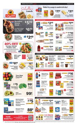 Grocery & Drug deals in the ShopRite catalog ( Expires tomorrow)