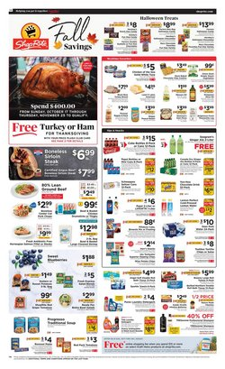 Grocery & Drug deals in the ShopRite catalog ( 2 days left)