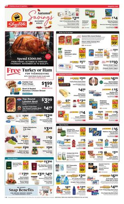 ShopRite deals in the ShopRite catalog ( Expires today)