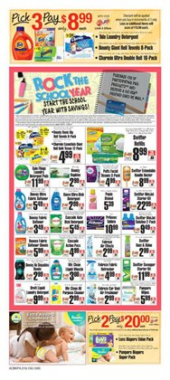 Fabric softener deals in the ShopRite weekly ad in New York