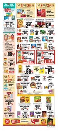 Pampers deals in the ShopRite weekly ad in New York