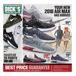Sports deals in the Dick's Sporting Goods weekly ad in Warren OH