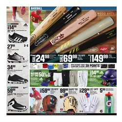 Baseball deals in the Dick's Sporting Goods weekly ad in New York