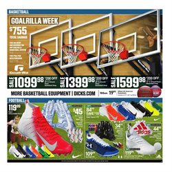Basketball deals in the Dick's Sporting Goods weekly ad in New York