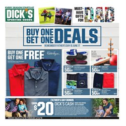 Sports deals in the Dick's Sporting Goods weekly ad in York PA