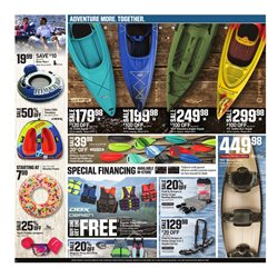 Kayak deals in the Dick's Sporting Goods weekly ad in Troy NY