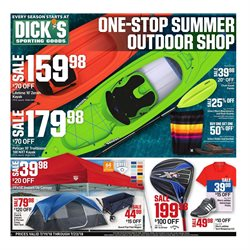 Kayak deals in the Dick's Sporting Goods weekly ad in Newark OH