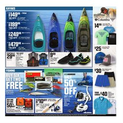 Fishing deals in the Dick's Sporting Goods weekly ad in Arvada CO