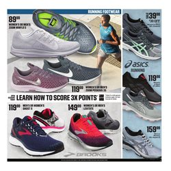Jogging deals in the Dick's Sporting Goods weekly ad in New York