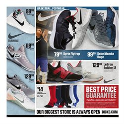 Dick's Sporting Goods deals in the Yorba Linda CA weekly ad