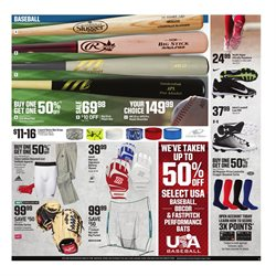 Baseball deals in the Dick's Sporting Goods weekly ad in Newark OH