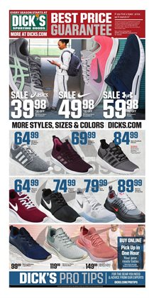 Dick's Sporting Goods deals in the Cincinnati OH weekly ad