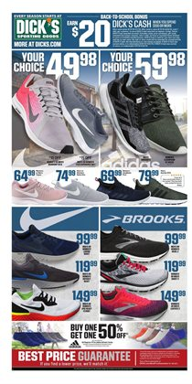 Sports deals in the Dick's Sporting Goods weekly ad in Erie PA