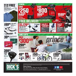 Tennis deals in the Dick's Sporting Goods weekly ad in New York