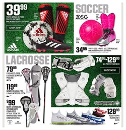 Football deals in the Dick's Sporting Goods weekly ad in New York