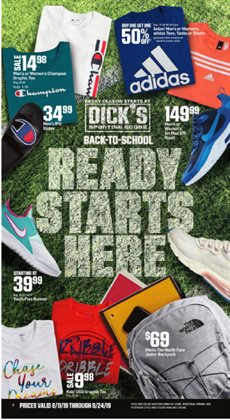 Sports deals in the Dick's Sporting Goods weekly ad in Newark OH