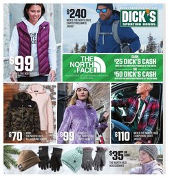 Sports deals in the Dick's Sporting Goods weekly ad in Mansfield OH
