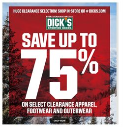 Sports deals in the Dick's Sporting Goods weekly ad in Conway AR