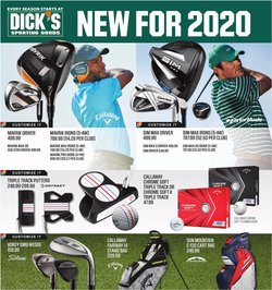 Sports offers in the Dick's Sporting Goods catalogue in Medina OH ( Expires today )