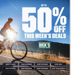 Sports offers in the Dick's Sporting Goods catalogue in Wilkes Barre PA ( 2 days left )