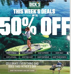 Sports offers in the Dick's Sporting Goods catalogue in Pomona CA ( 2 days left )