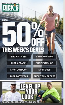 Sports offers in the Dick's Sporting Goods catalogue in Livonia MI ( Expires today )