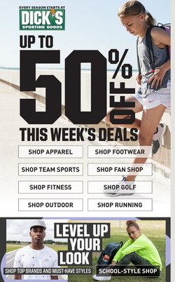 Sports offers in the Dick's Sporting Goods catalogue in Greenwood IN ( 1 day ago )