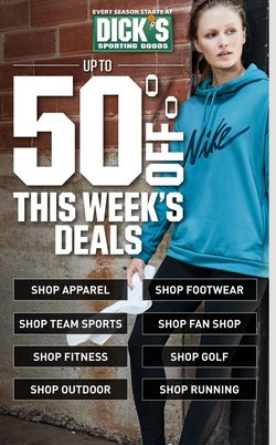 Sports offers in the Dick's Sporting Goods catalogue in Charleston WV ( 3 days left )