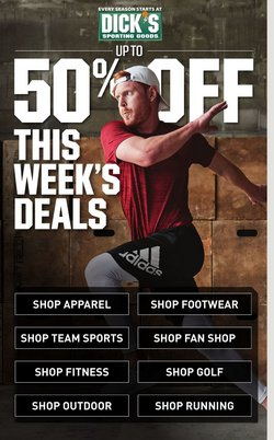 Sports offers in the Dick's Sporting Goods catalogue in Boca Raton FL ( 1 day ago )