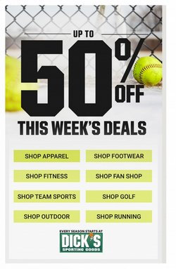 Sports offers in the Dick's Sporting Goods catalogue in Nashville TN ( Expires tomorrow )