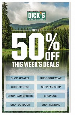 Dick's Sporting Goods catalogue ( Expires today )