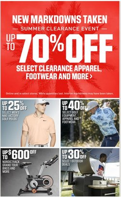 Nike deals in the Dick's Sporting Goods catalog ( 3 days left)