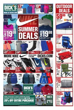 Dick's Sporting Goods deals in the Dallas TX weekly ad