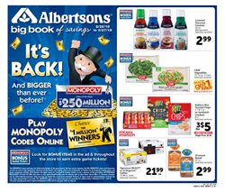 Albertsons deals in the Oxnard CA weekly ad