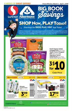 Albertsons deals in the Vancouver WA weekly ad