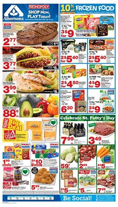 Albertsons deals in the Portland OR weekly ad
